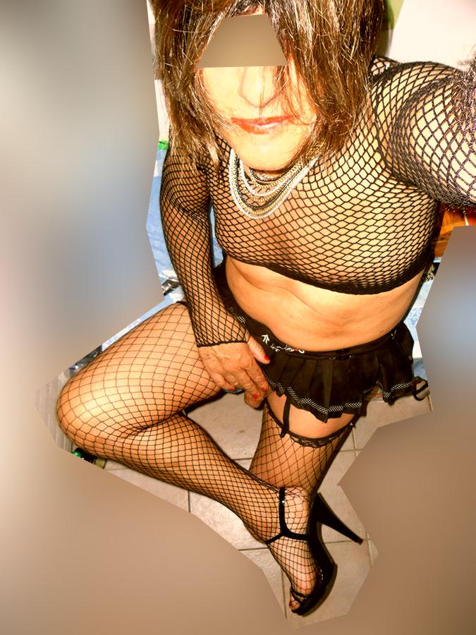 Sodomie en bas nylon pour min fan 45 min sur mon site